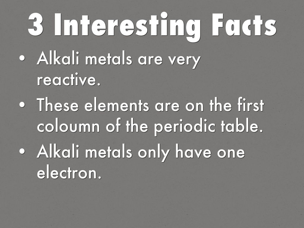 Alkali metals by maggienning elements in this group urtaz Images