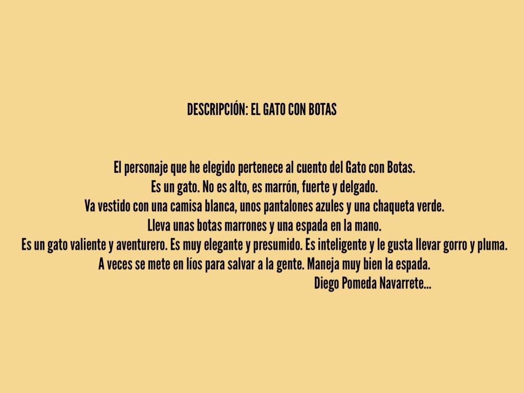 Mercedes El Paso >> EL GATO CON BOTAS by Blazquez Huelamo Mercedes