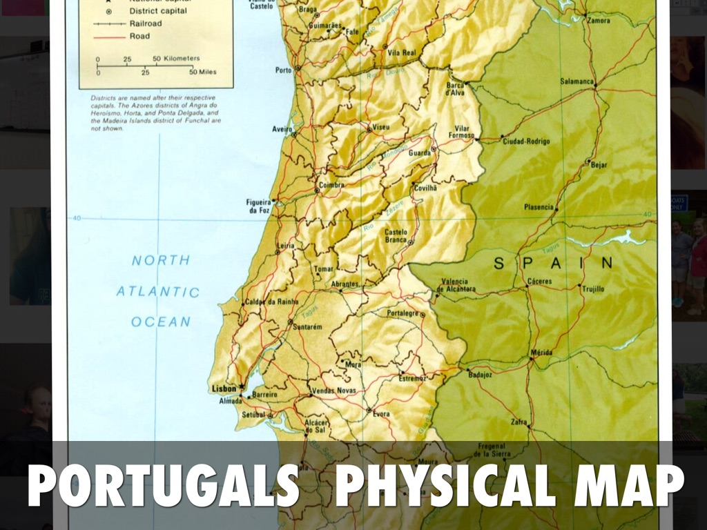 Portugal By Brooke Jones - Portugal physical map