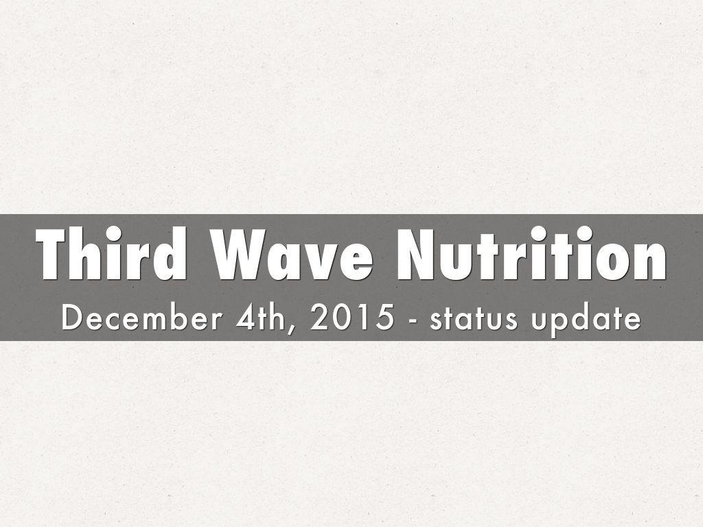 Third Wave Nutrition