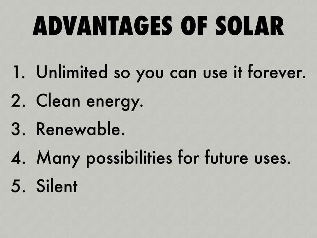 Solar energy by christiancg Benefits of going solar