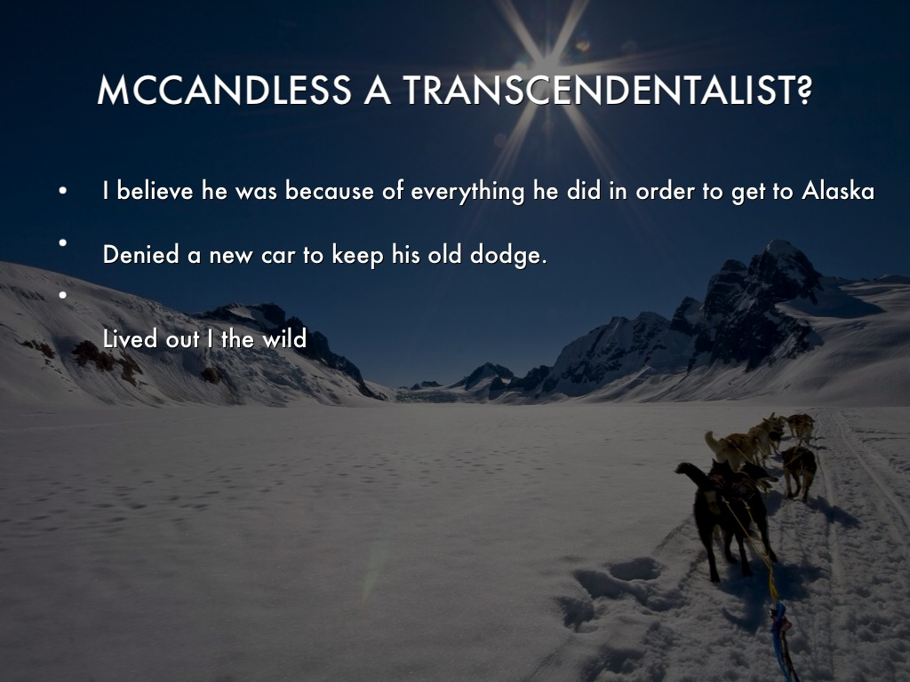 transcendentalist mccandless