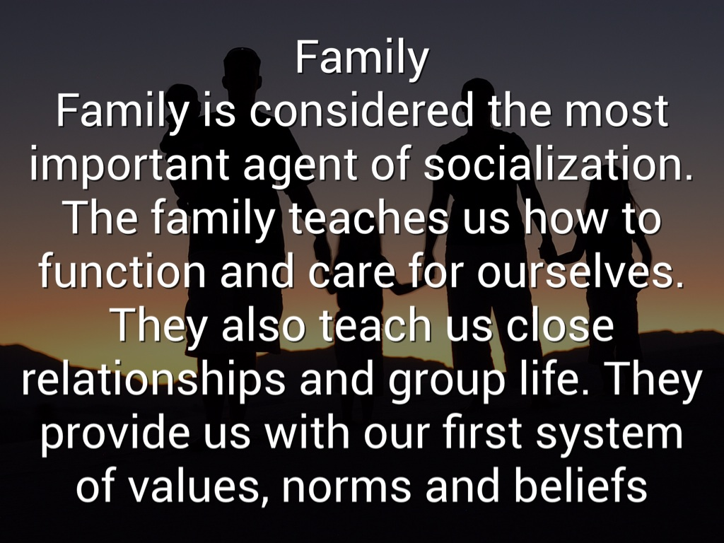 agents in socialization Agents of socialization in short are the people, groups, and social institutions, as well as the interactions within these groups that influence a person's social and self-development agents of socialization are believed to provide the critical information needed for children to function.