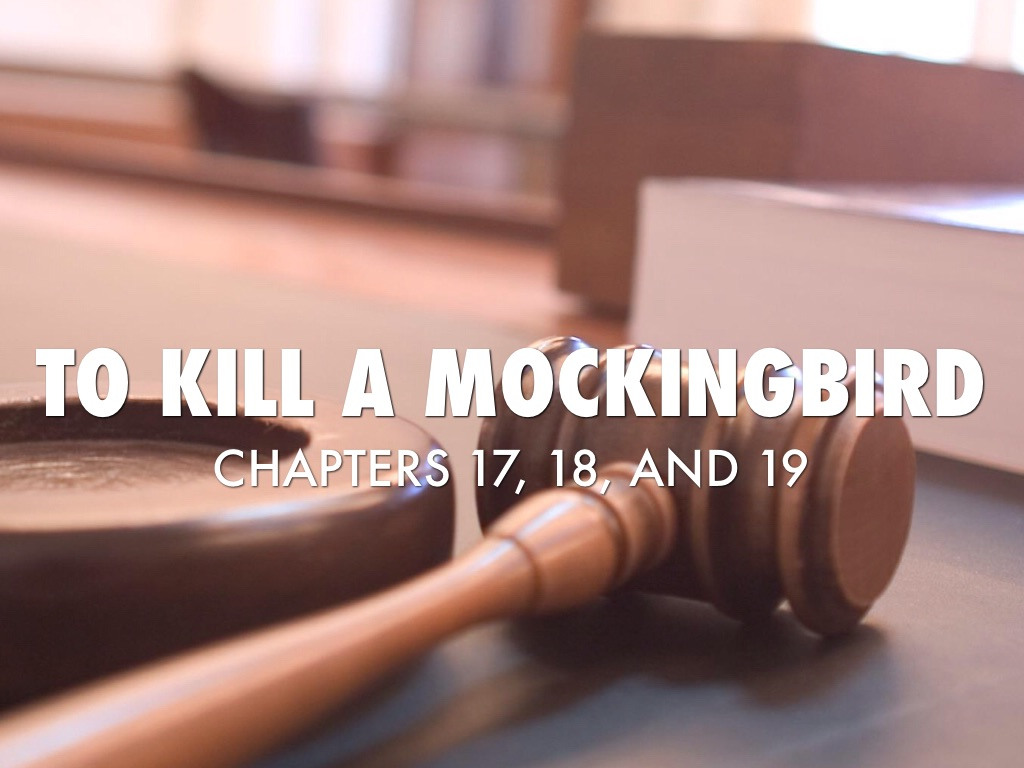 to kill a mockingbird chapter 17 18
