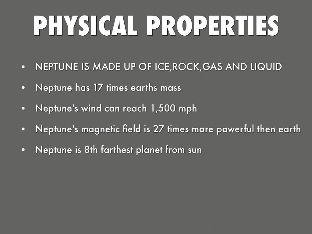 Uranus Physical Properties