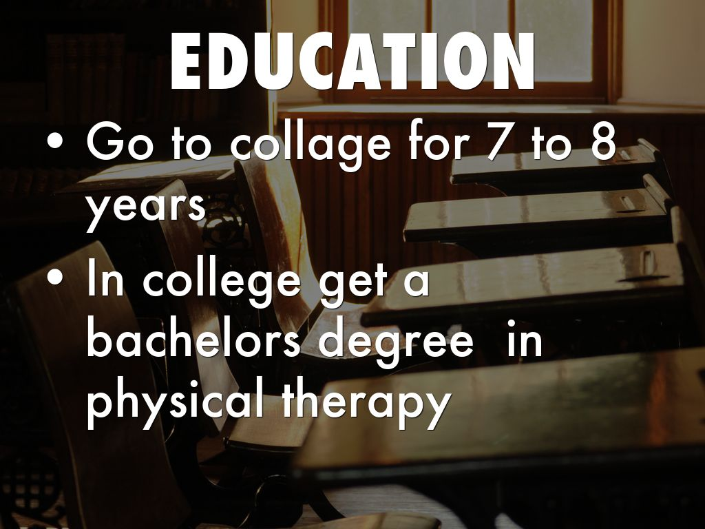 College courses for physical therapy - 8