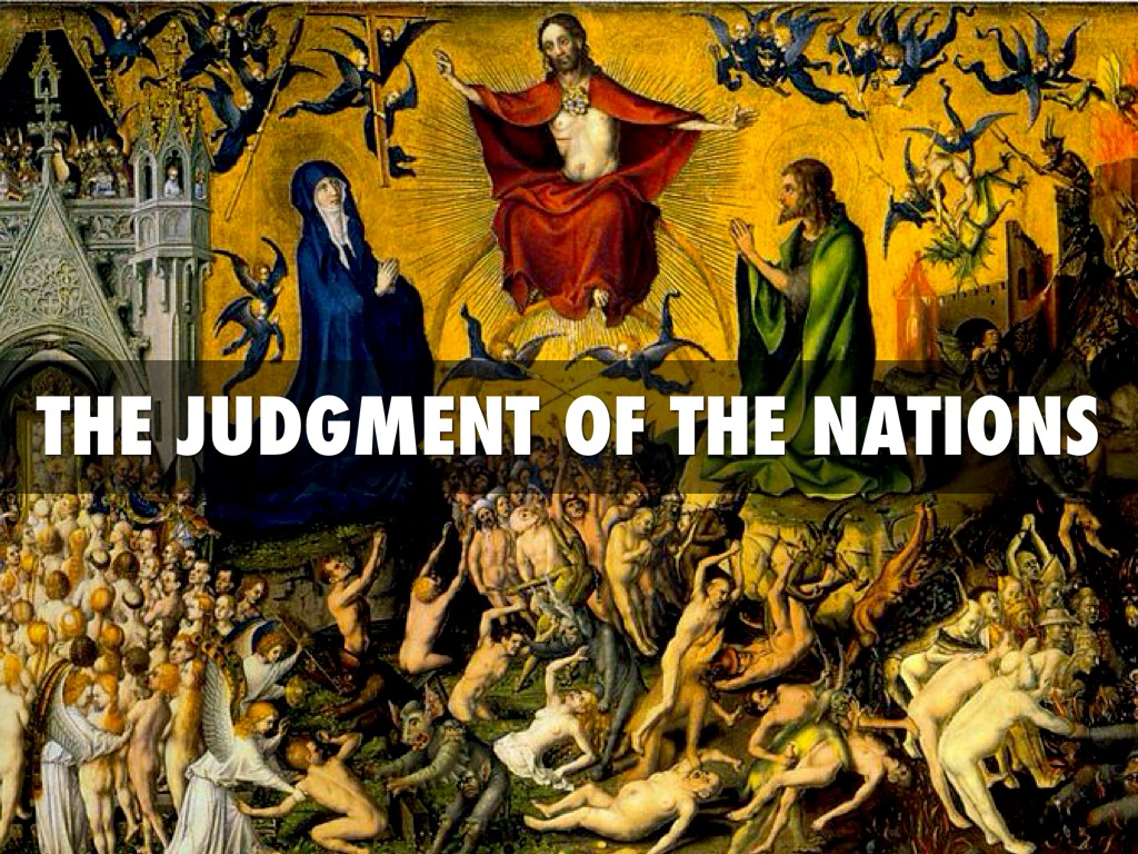 the judgement day Judgment day in the new testament , the day at the end of time according to the gospels and the book of revelation , on this day the earth and the sky will be in an uproar, the dead will rise from their graves, and jesus will return to judge all the living and the dead.