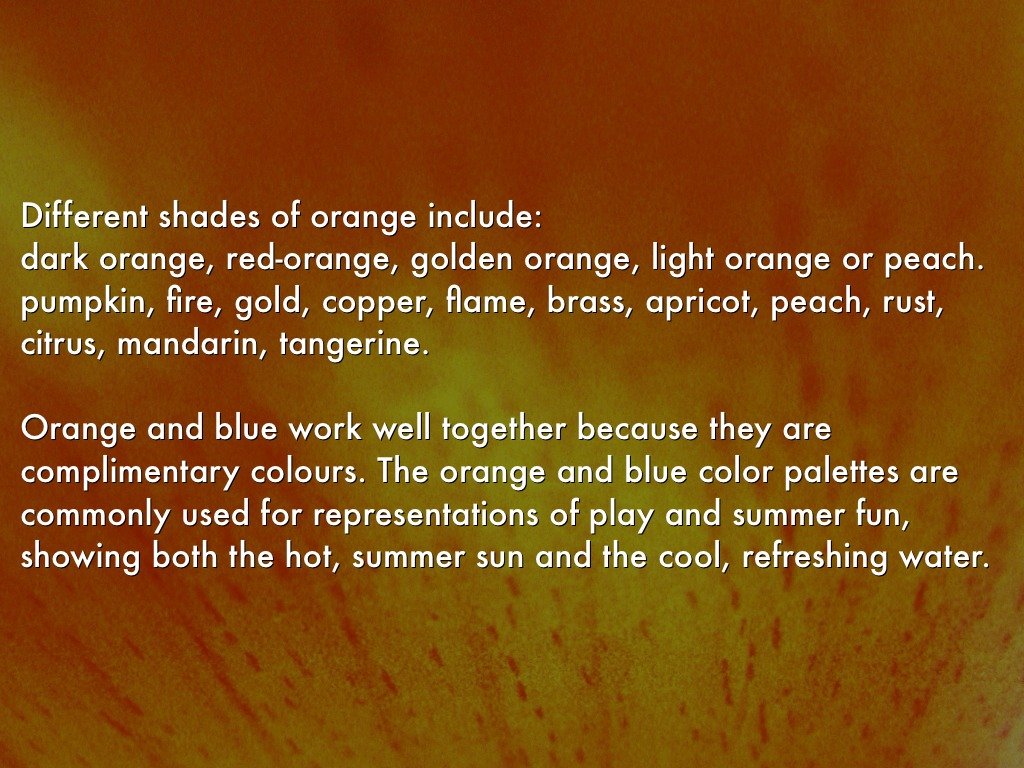 Colour Meanings By Henrica Burns