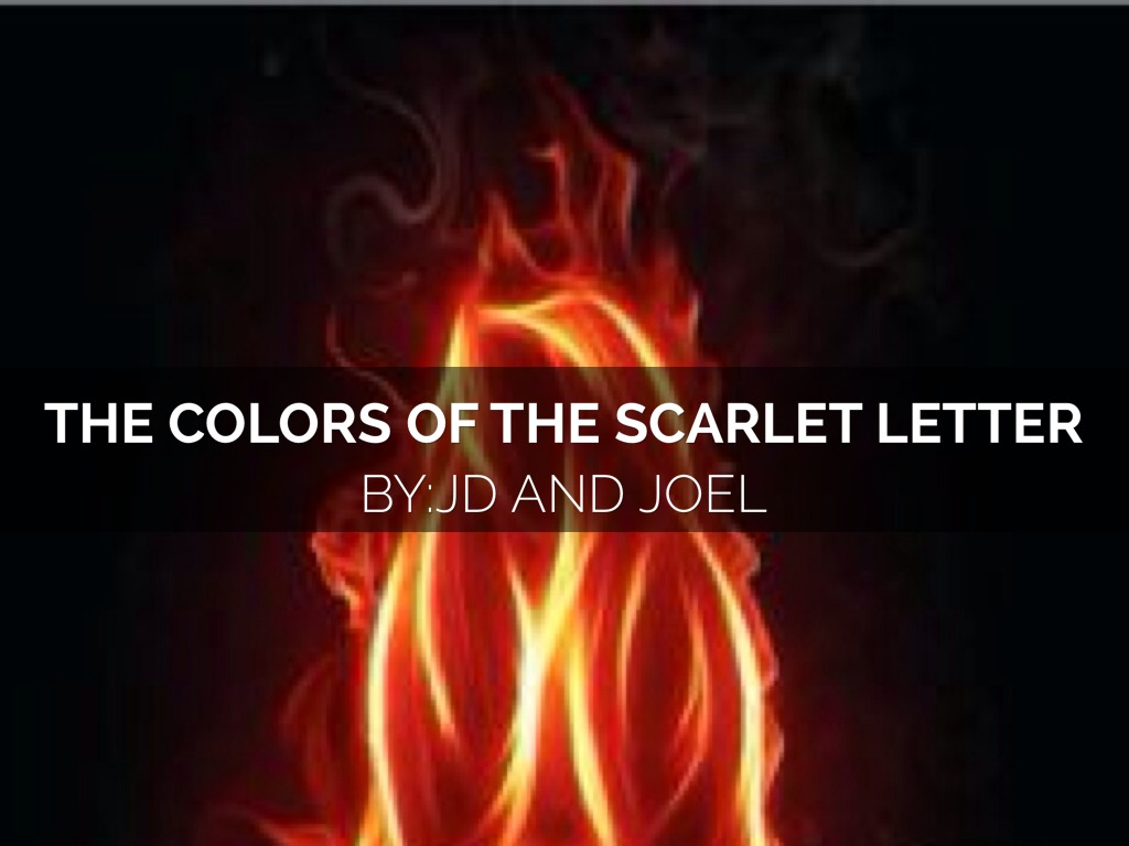 Colors In The Scarlet Letter