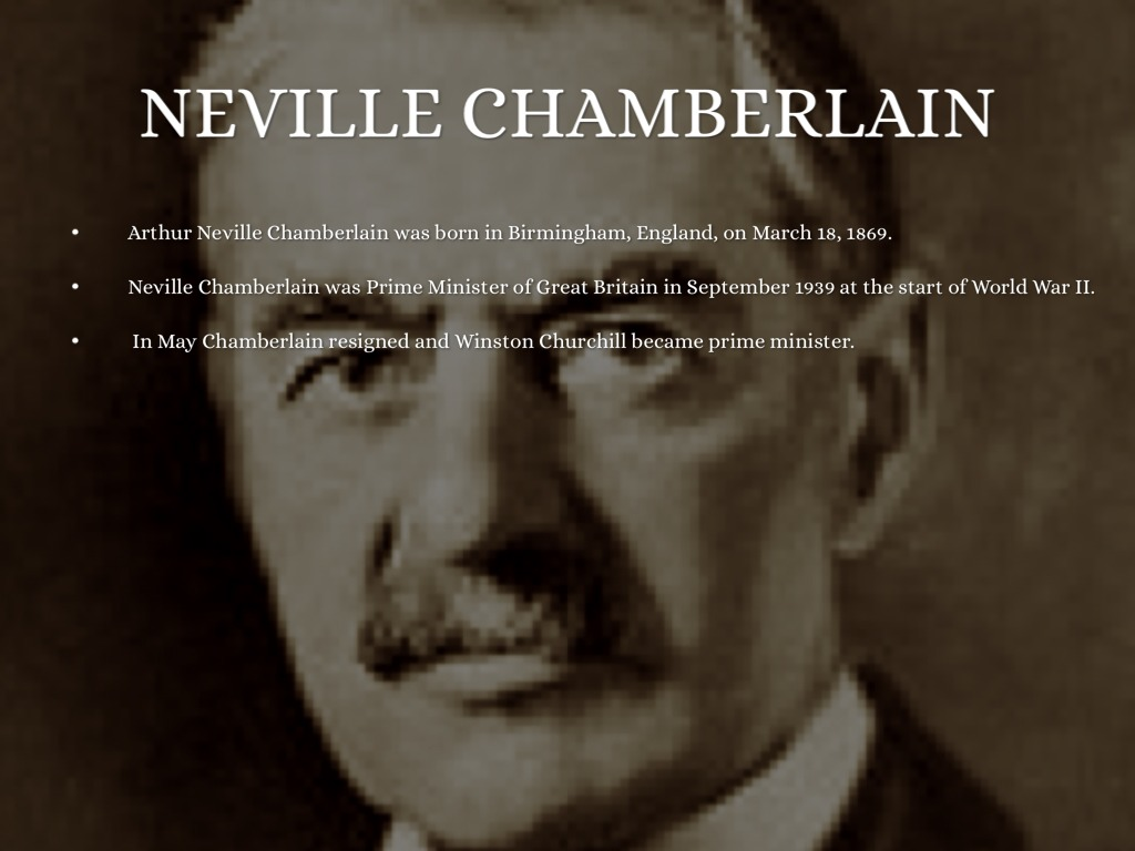 churchills eulogy for neville chamberlain