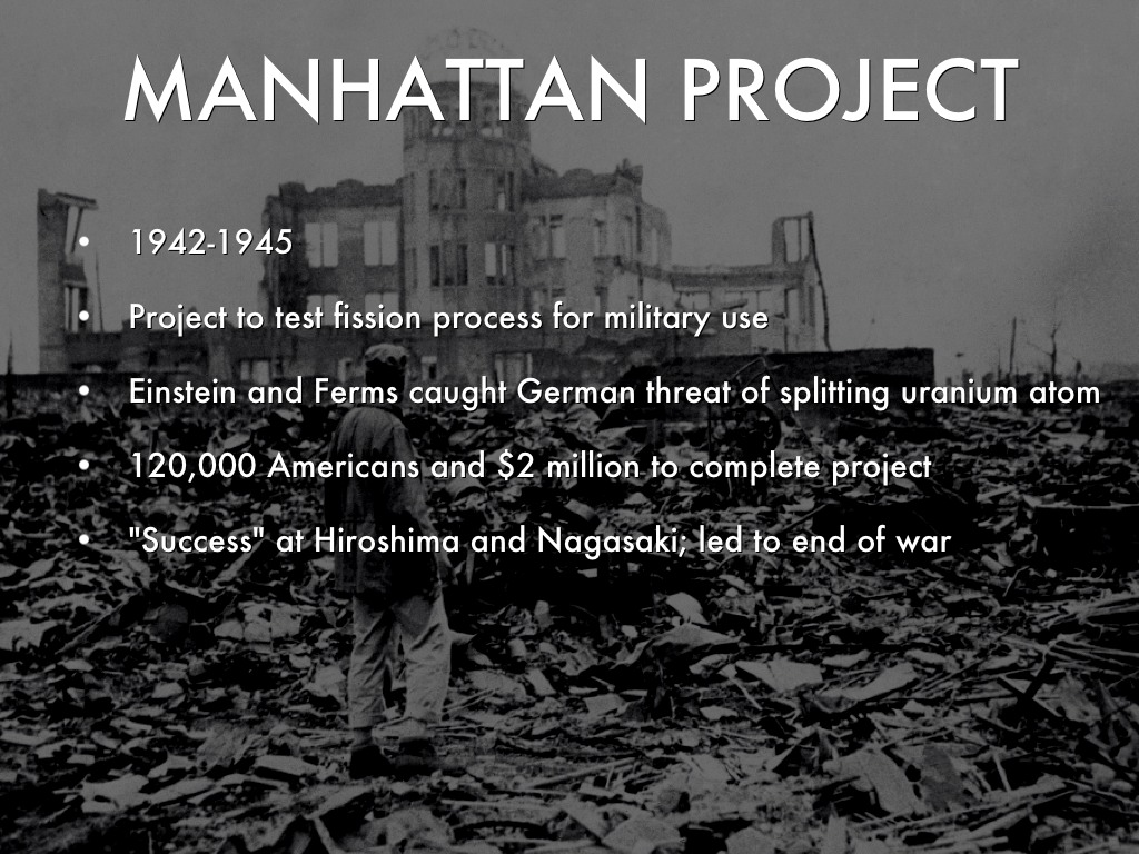 manhattan project ww2 Espionage and the manhattan project almost a year before the manhattan manhattan: the army and the atomic bomb, united states army in world war ii.