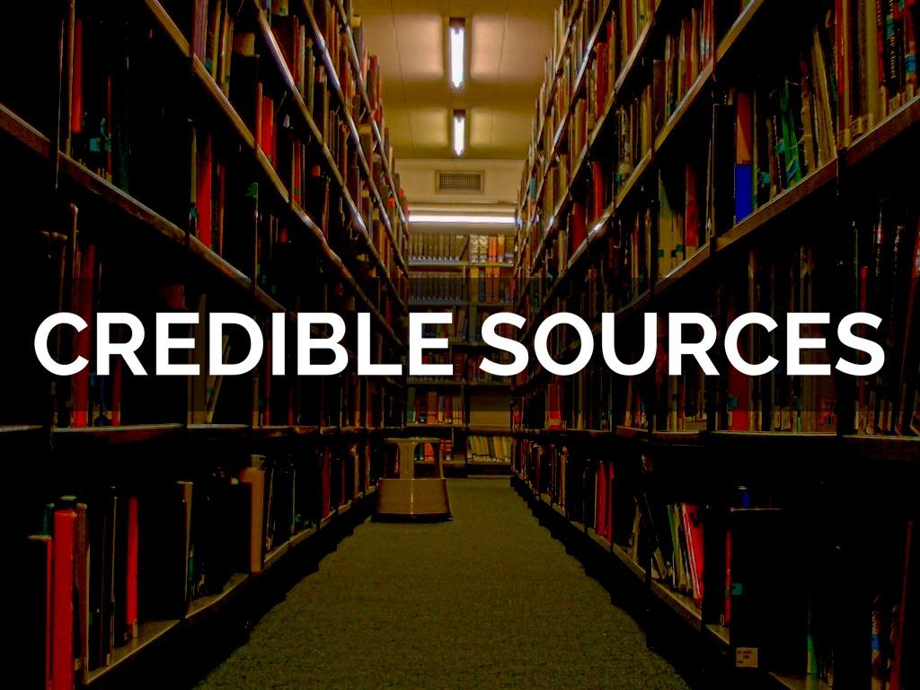 Hasil gambar untuk Credible Sources