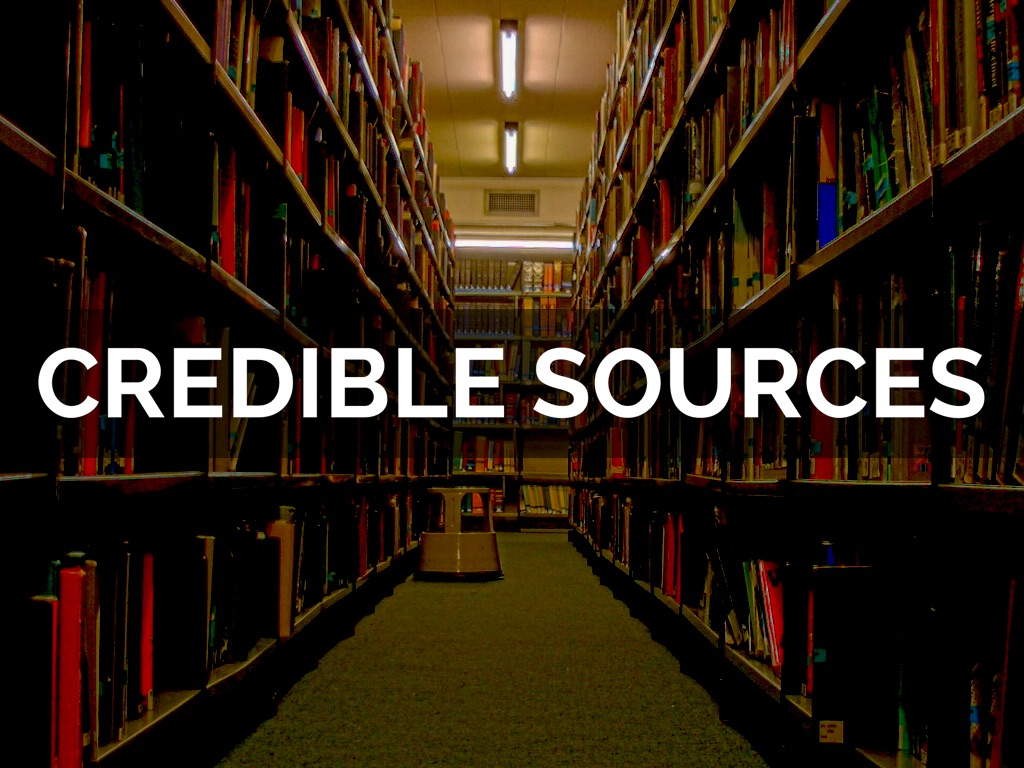 credible sources a key to college Find and evaluate credible sources online practically anyone can create a website schools, businesses, government entities, churches, and libraries create websites so people can learn more about what they do.