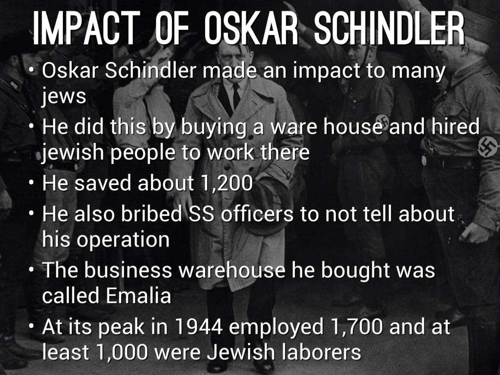 Oskar Schindler by Gibran Daldoul