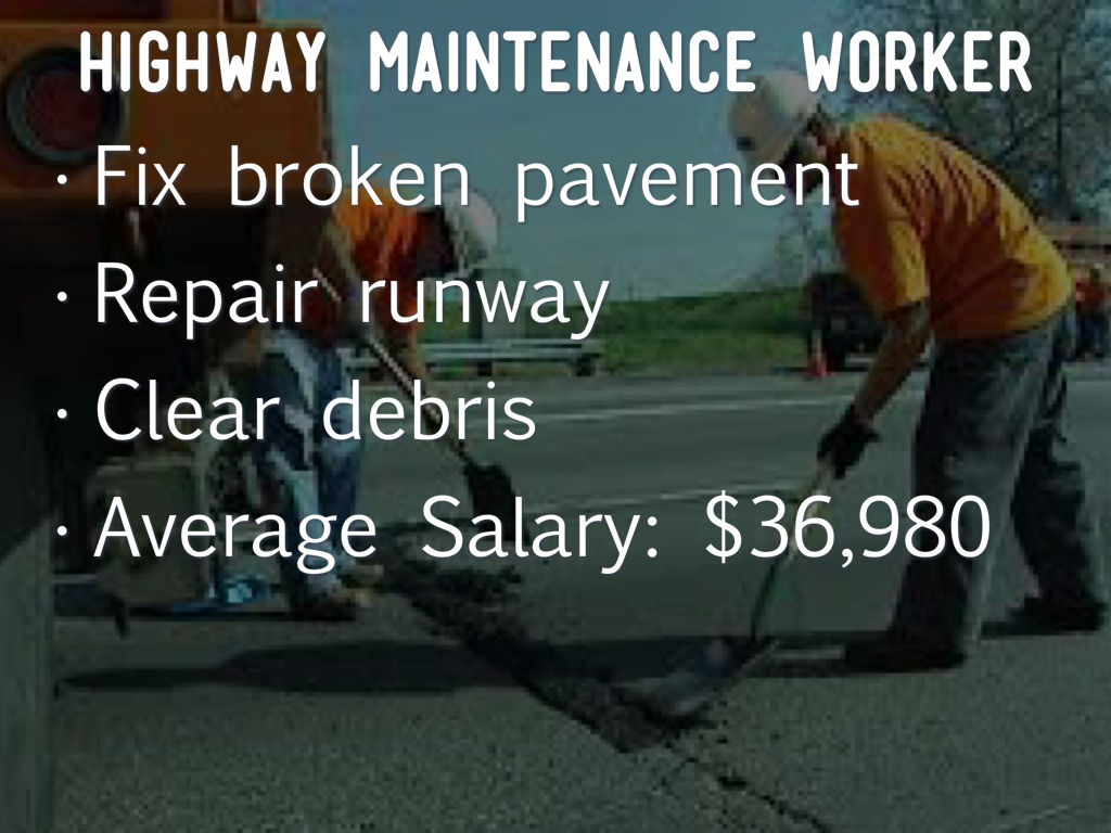 highway maintenance worker essay