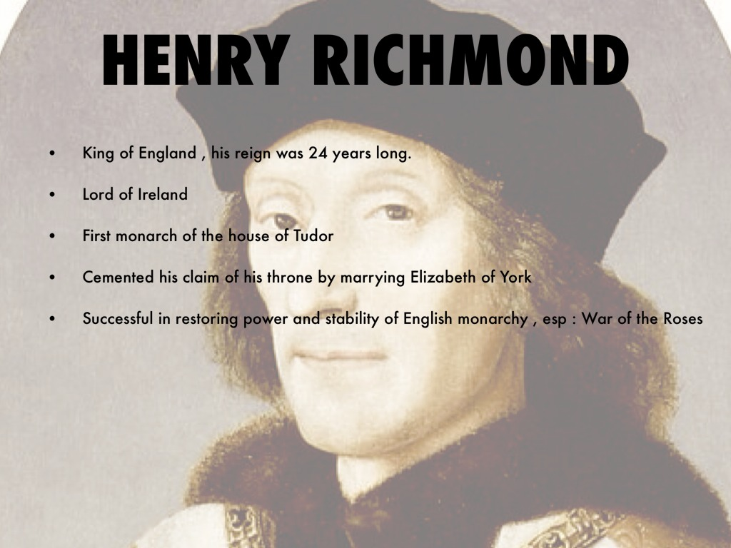 henry tudors success in replacing richard Henry vii ended the civil wars known as the wars of the roses, founded the   his brother richard usurped the throne from his 12-year-old nephew edward v,.