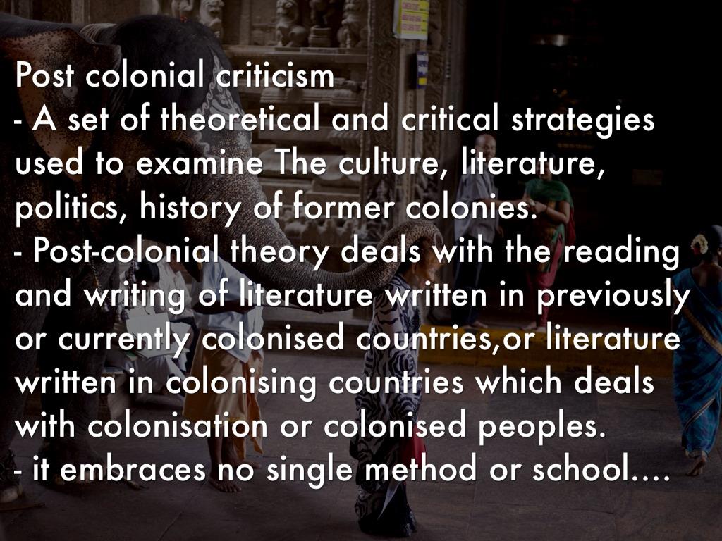 Passage To India: Post Colonial Theory by Ahalya Vijay