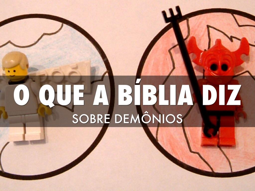 O Que A Bíblia Diz Sobre demônios?