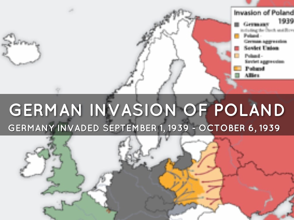 the series of events during the 1939 poland invasion of germany World war ii erupts: haunting color photos from 1939 1939, one week after nazi germany refugees near warsaw during the 1939 german invasion of poland.