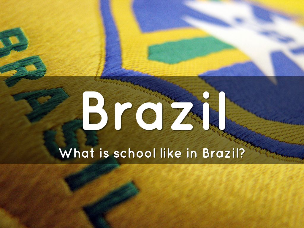 Brazil education