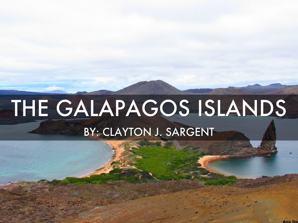 Galápagos Islands.