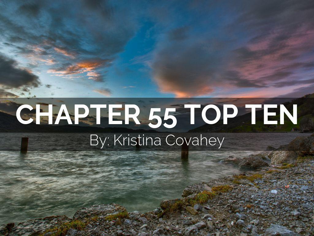 ap biology chapter 55