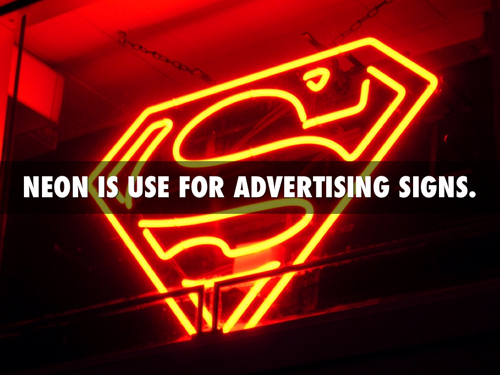 Neon element by bailey collingham neon is use for advertising signs buycottarizona Choice Image
