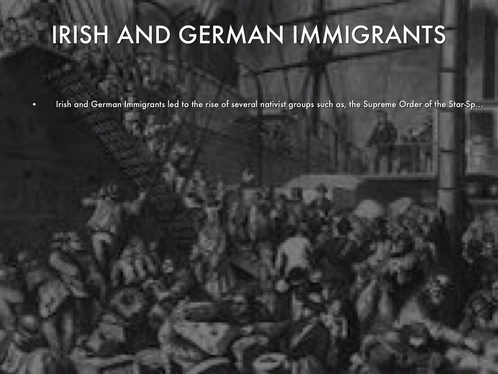 german and irish immigration comparison essay Famine and political revolution in europe led millions of irish and german citizens to immigrate to america in the mid-nineteenth irish and german immigration.