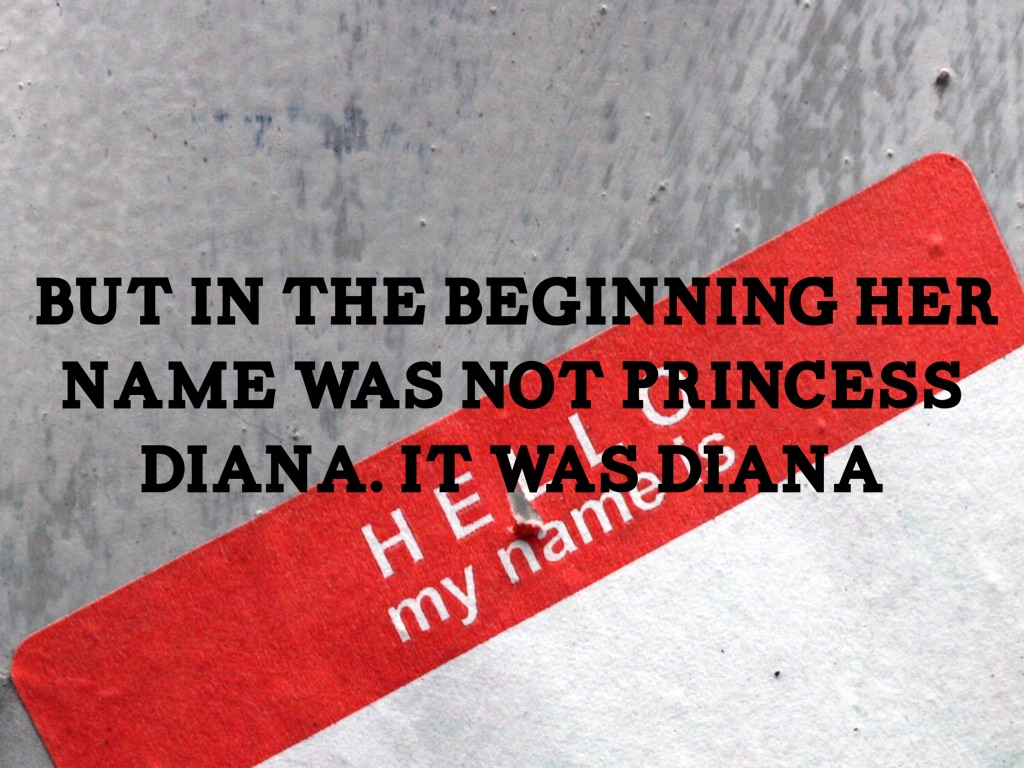 Princess Diana by Olivia Causey