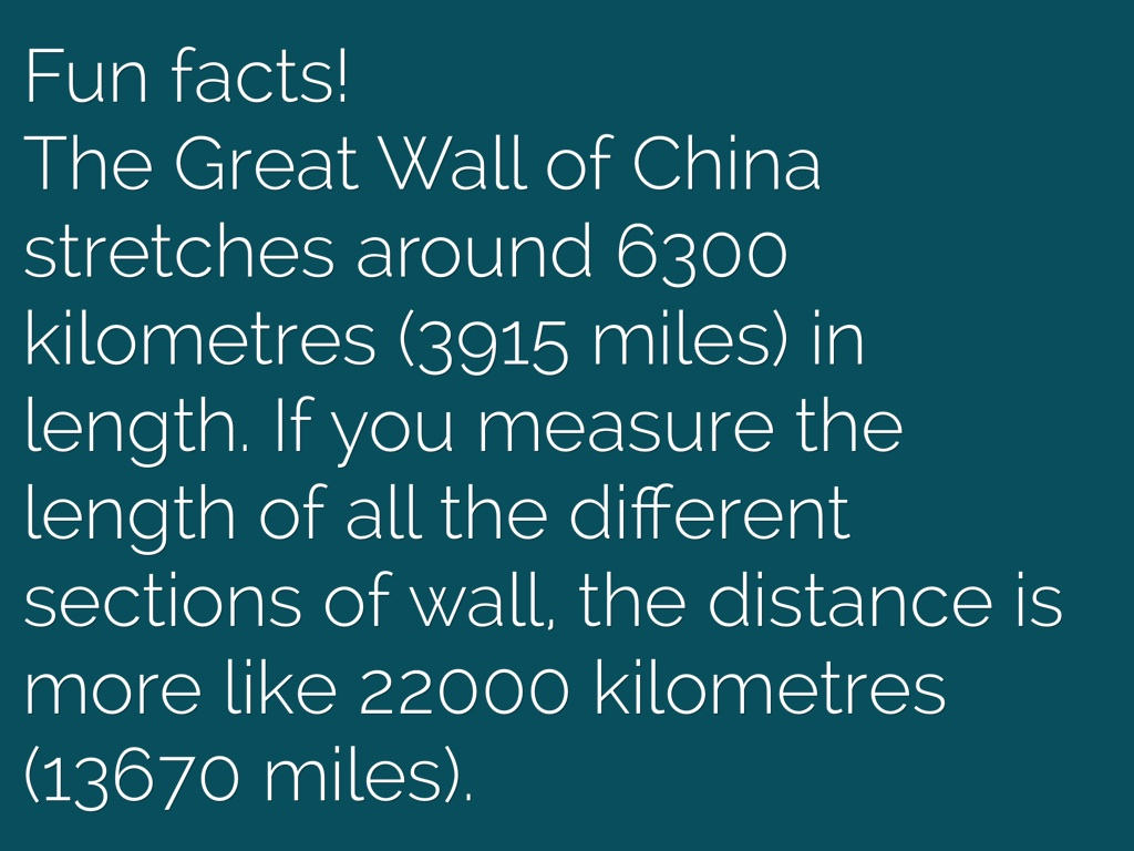 Facts About The Great Wall Of China Floors Doors Interior Design