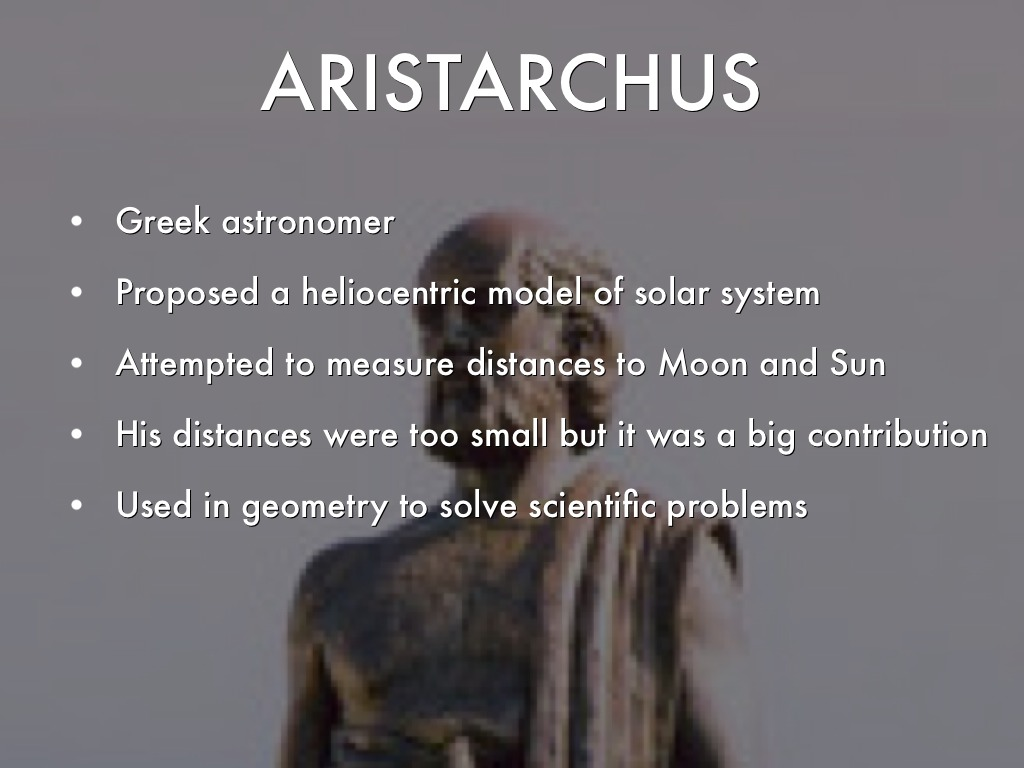 Aristarchus of Samos  Greek astronomer  Britannicacom