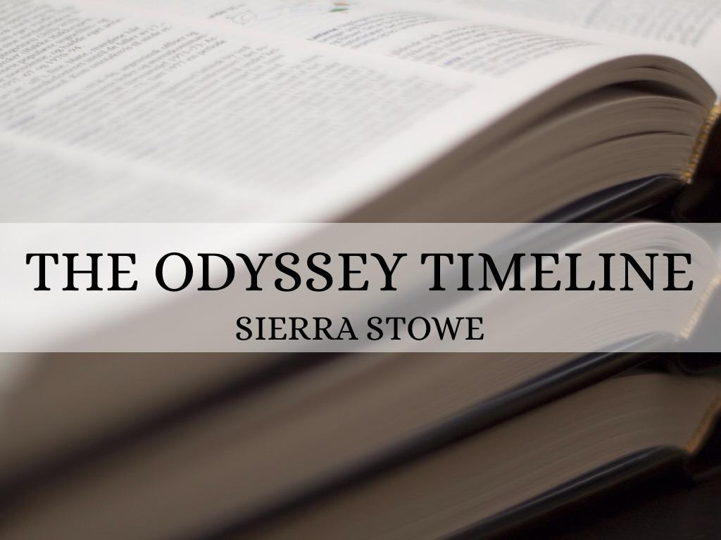 the odyssey timeline by ssdogs17