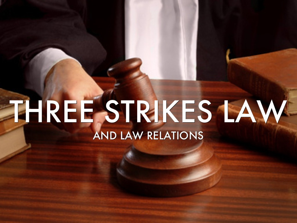 the three strikes law The toughest criminal law in the land was the subject of a major us supreme court case this year and the decision, which was announced months after 60 minutes ii first aired this feature last fall, was as deeply divided as the controversy surrounding the law itself california's three-strikes law.