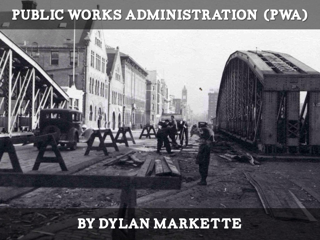 public works administration by dylan markette