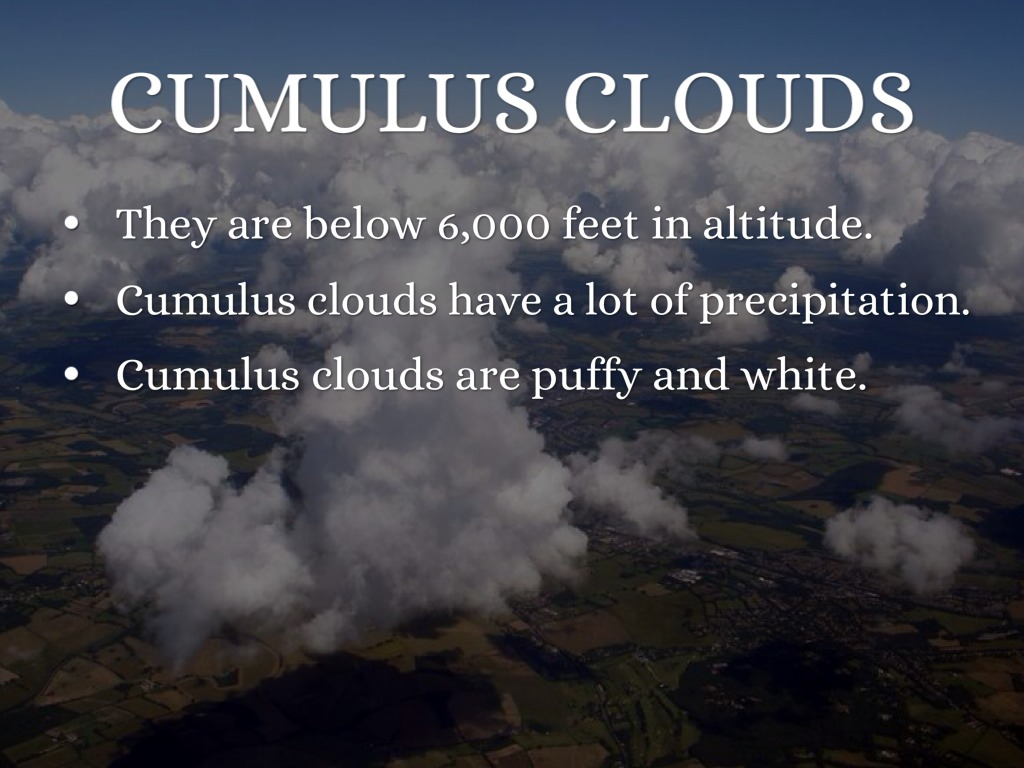 facts about clouds by elizabeth flanders