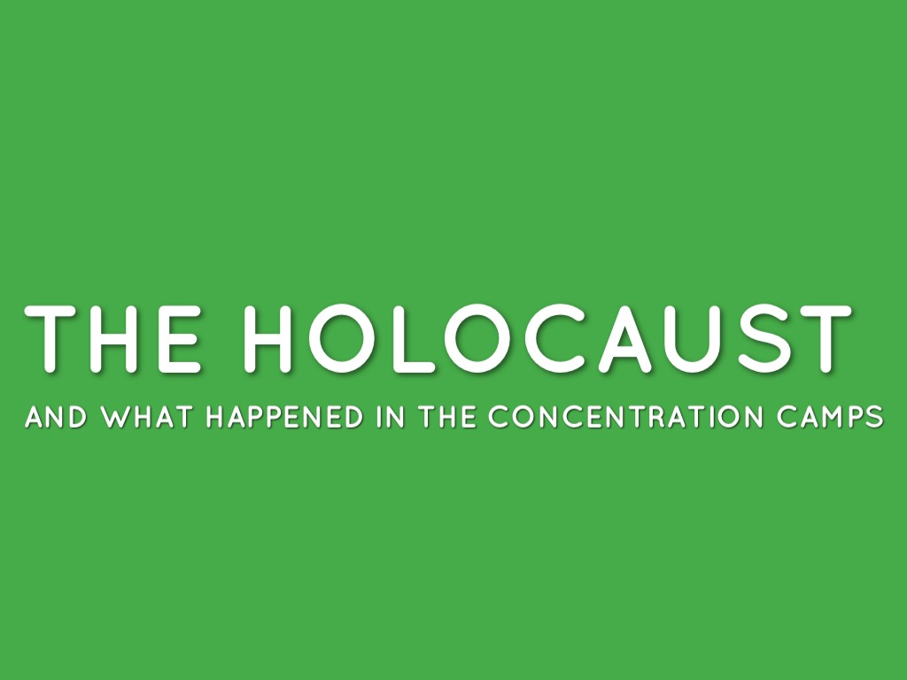 Holocaust by Patrick Conta