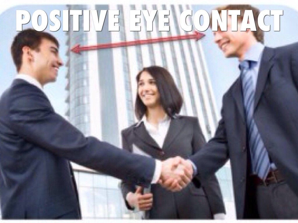 Project Positive Body Language For SuccessExperiential  |Positive Body Language