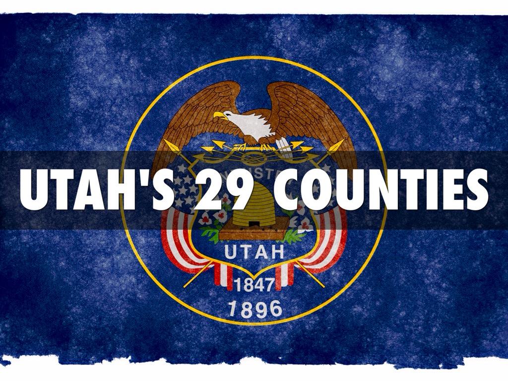 Copy of Utah's 29 Counties