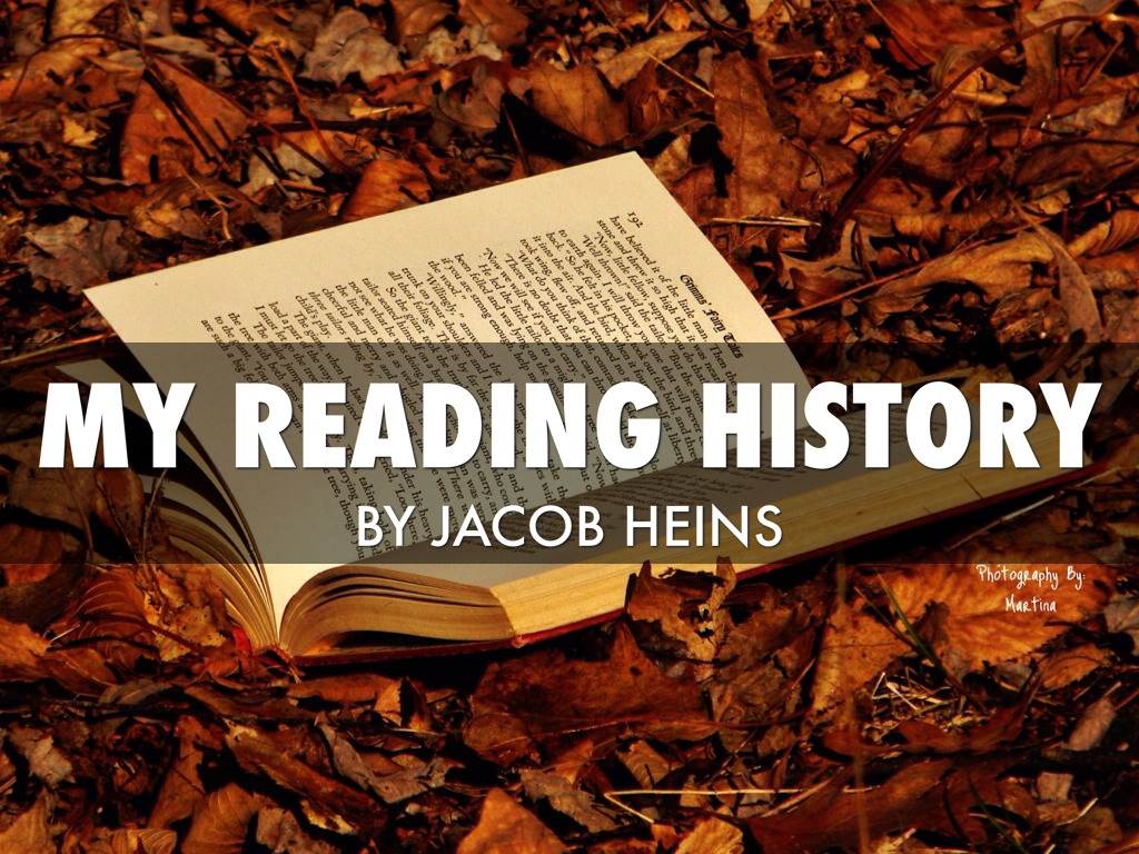 my reading history