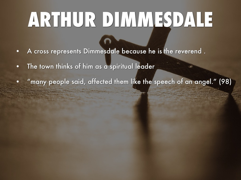 arthur dimmesdale thesis
