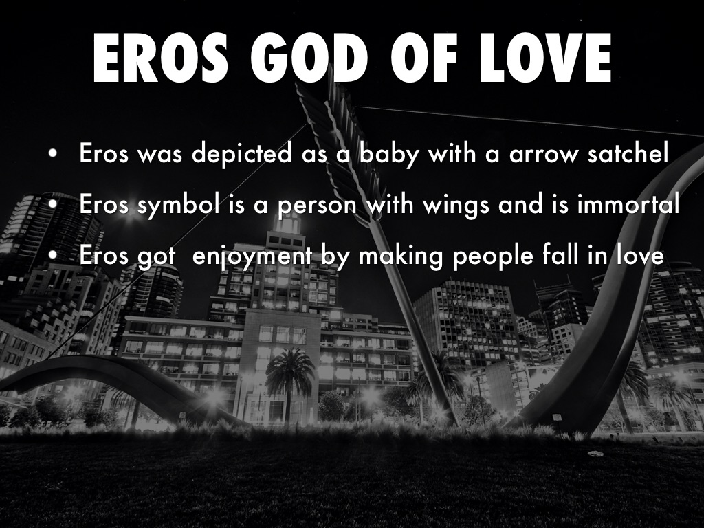 Eros God Of Love By Geremiah Olvera