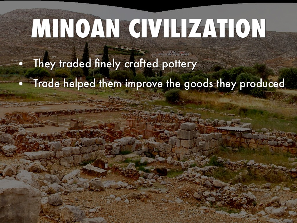 minoan civilization overview Hook your students on history with this engaging and colorful presentation on ancient greece this slide show is designed to make students active and enthusiastic learners.