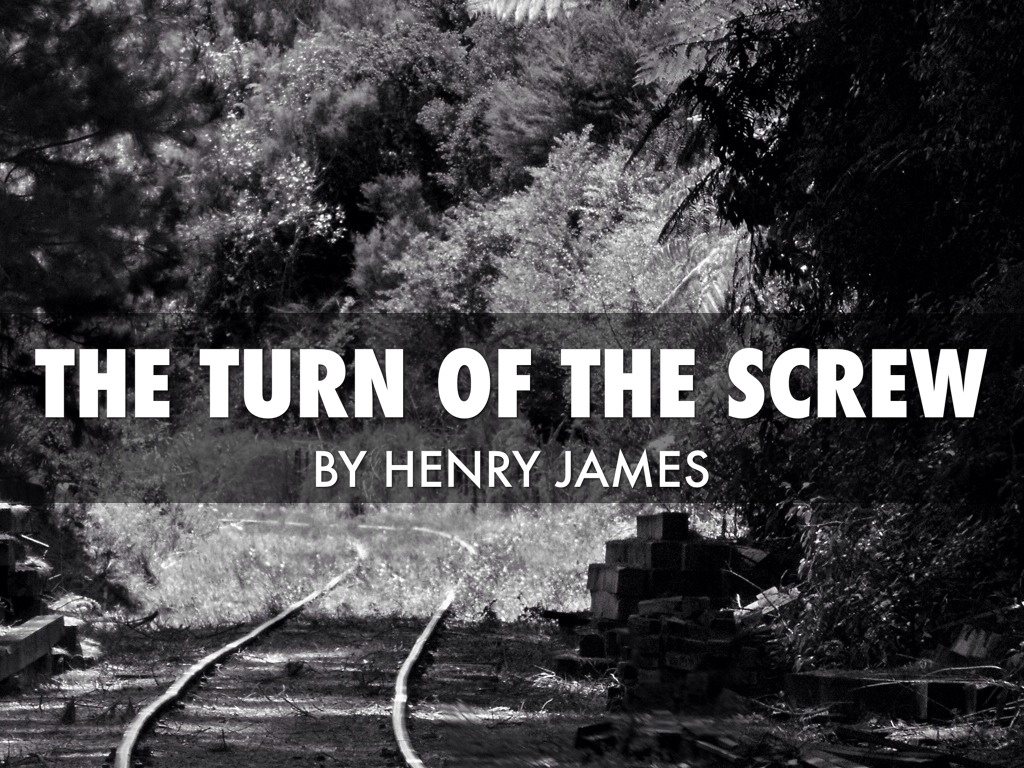 the turn of the screw by The turn of the screw is a horror novella by the american-born british author henry james it was originally serialized in twelve parts in issues of the american.