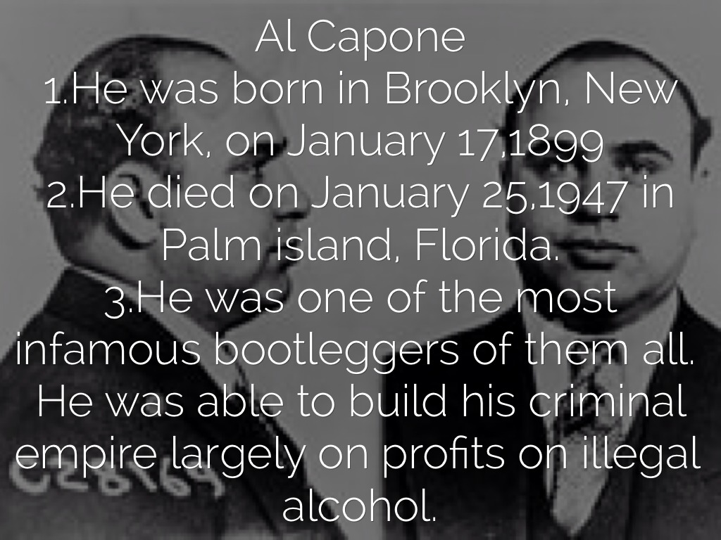 the rise and fall of al capone in new york The rise of al capone and organized crime  gang warfare, bribery and  corruption in new york and then chicago where he became the powerful, brutal  and.