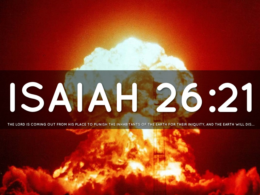 Image result for Isaiah 26:21