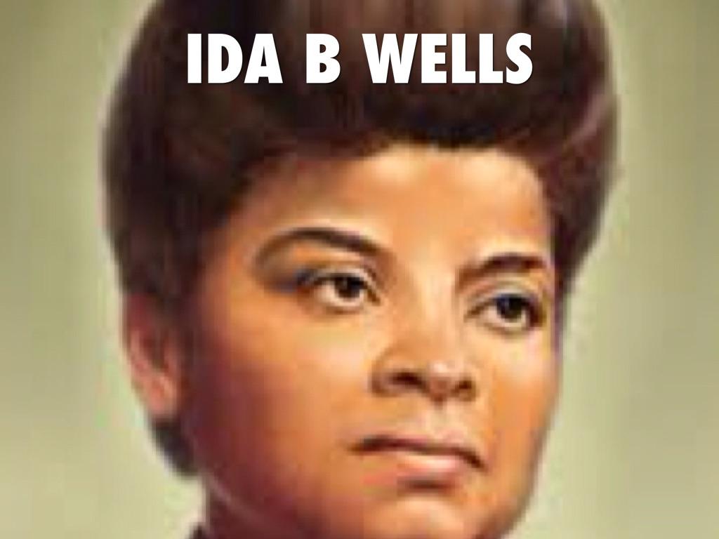 Ida B Wells By Bogdan Kompaneyets