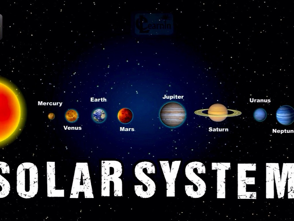 What is the order of the planets in the Solar System