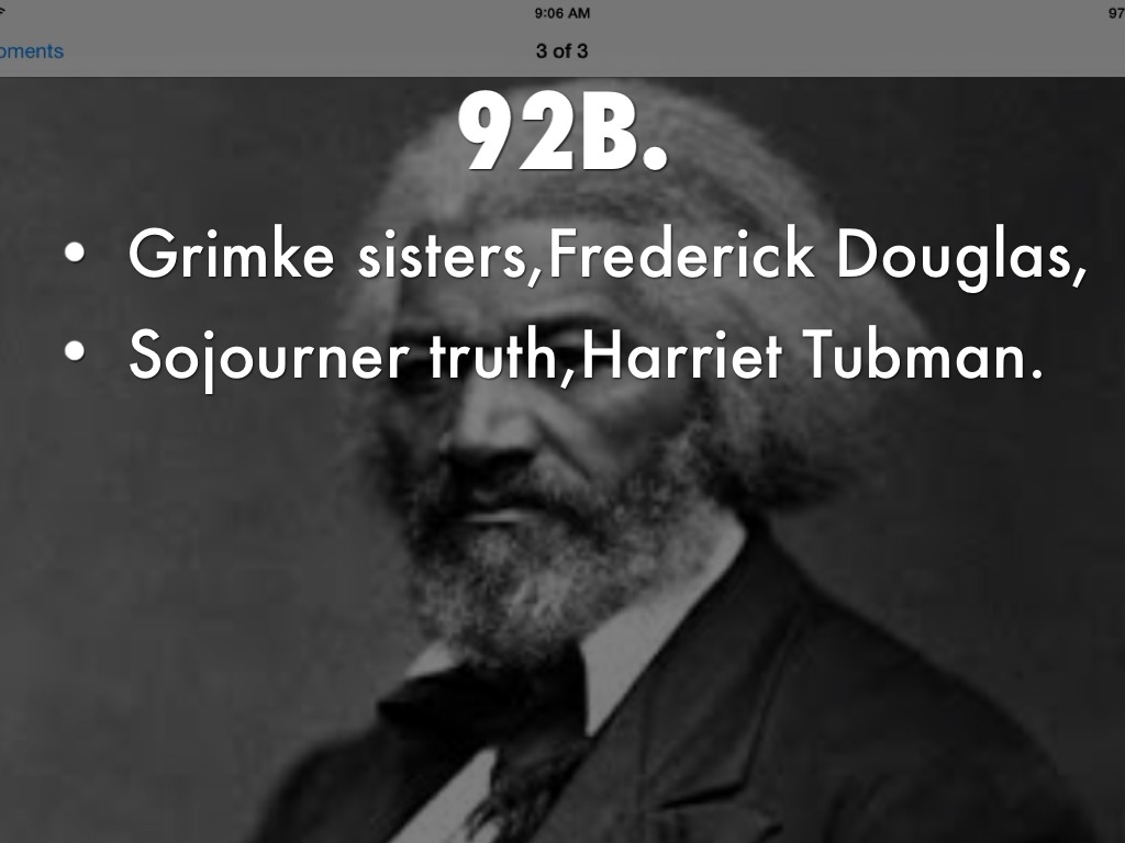 the strategies of sojourner truth harriet tubman and john brown
