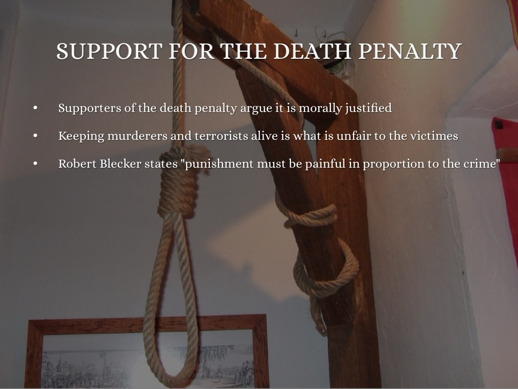 in support of the death penalty In australia, a 2009 poll found that 23% of the public support the death penalty for murder, while a 2014 poll found that 525% support the death penalty for fatal terrorist attacks [22] a number of polls and studies have been done in recent years with various results.