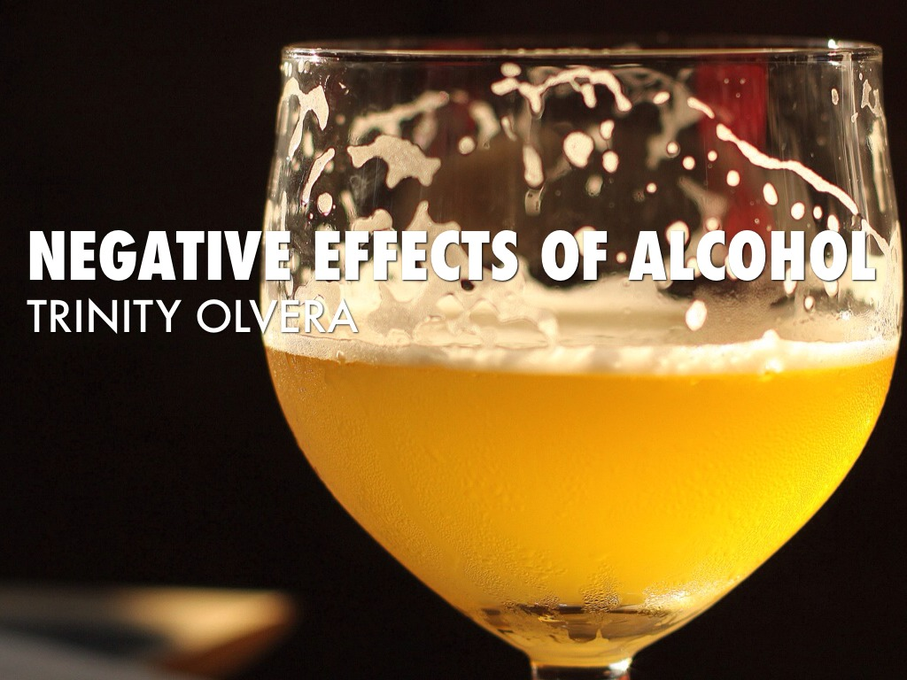 The Negative Effects Of Drinking